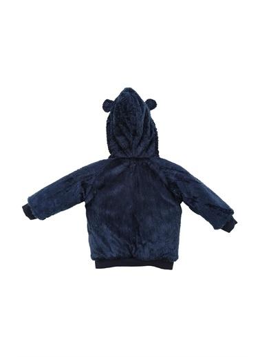 Zeyland Ayıcık Aplikeli Peluş Kapüşonlu Ceket (6-18ay) Ayıcık Aplikeli Peluş Kapüşonlu Ceket (6-18ay) Lacivert